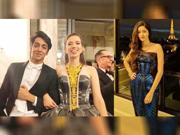 Ananya Panday and Ahaan Panday's dreamy Le Bal debut