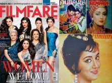 Birthday Special: Hema Malini's Filmfare covers down the years