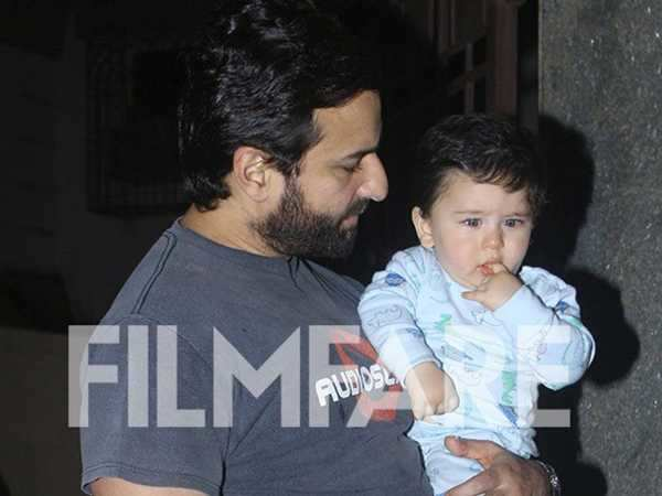 """Taimur was alone with me and he was looking a little sad - Saif Ali Khan"