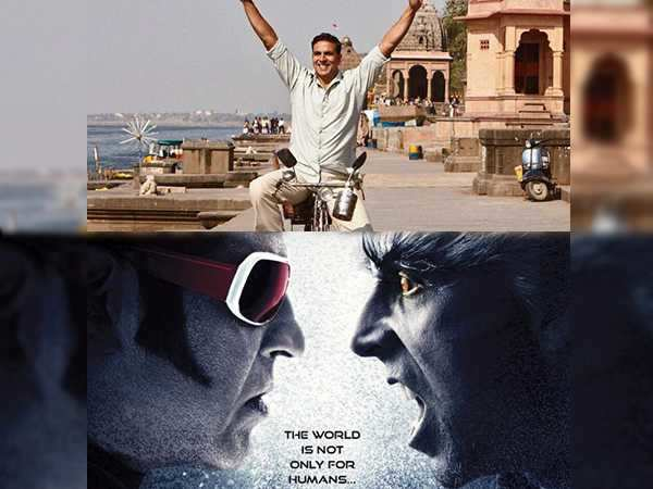 Rajinikanth's 2.0 and Akshay Kumar's Padman to clash at the box-office