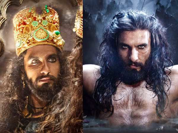 As dark as it can get! Ranveer Singh has arrived as Alauddin Khilji in Padmavati