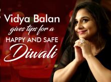 Vidya Balan's safety tips for a happy Diwali