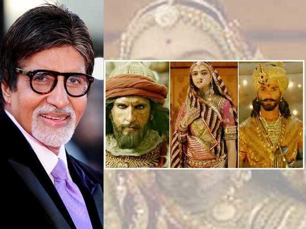 Amitabh Bachchan loves the trailer of Padmavati
