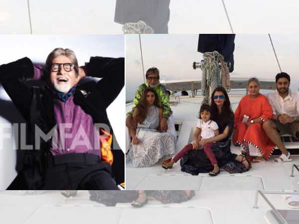 You can't miss this picture of Bachchans holidaying in the Maldives