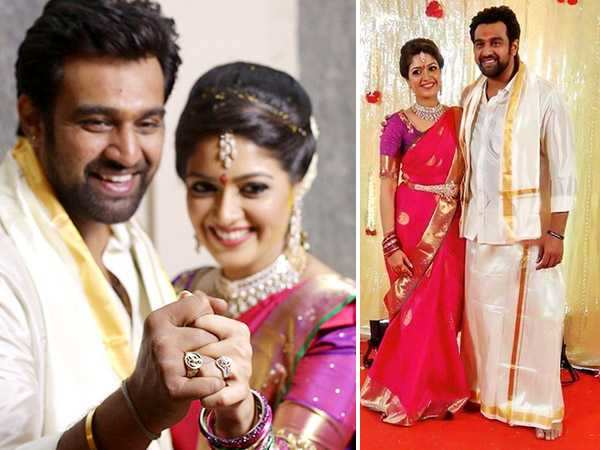 Hitched! Chirranjeivi Sarjaa and Meghana Raj get engaged in a private ceremony