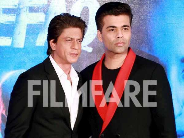 Shah Rukh Khan and Karan Johar met Ittefaq se