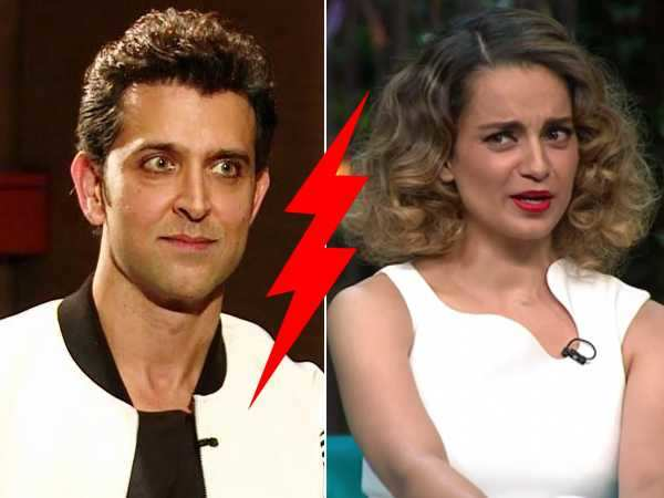 Hrithik Roshan strikes back at Kangana Ranaut! Releases an official statement