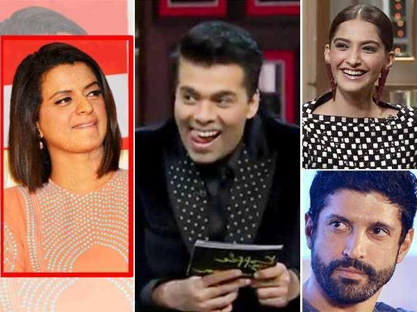 Rangoli Chandel lashes out at Karan Johar, Sonam Kapoor & Farhan Akhtar in these tweets