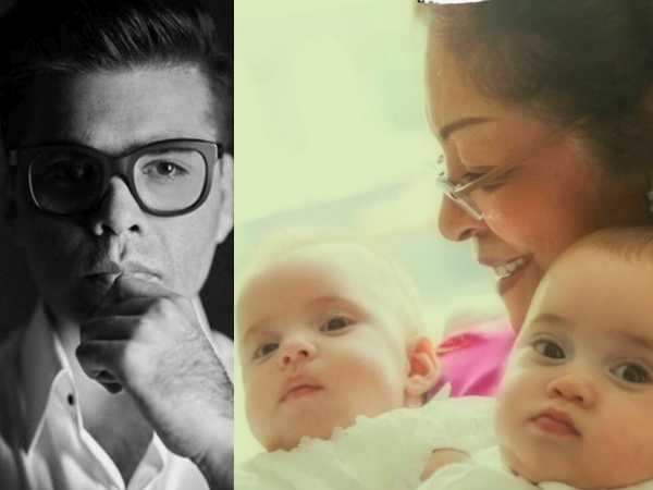 This is the change twins, Roohi and Yash Johar have bought into daddy Karan Johar's life