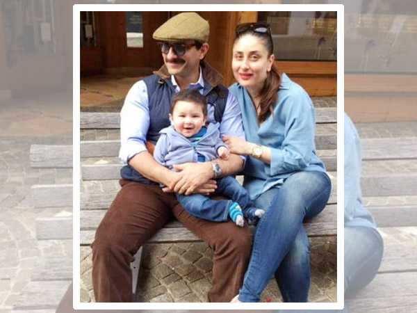 Saif Ali Khan shops for Kareena Kapoor Khan and baby Taimur