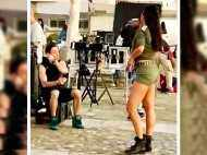 Photos: Katrina Kaif is heating it up in this hot picture from the sets of Tiger Zinda Hai in Greece