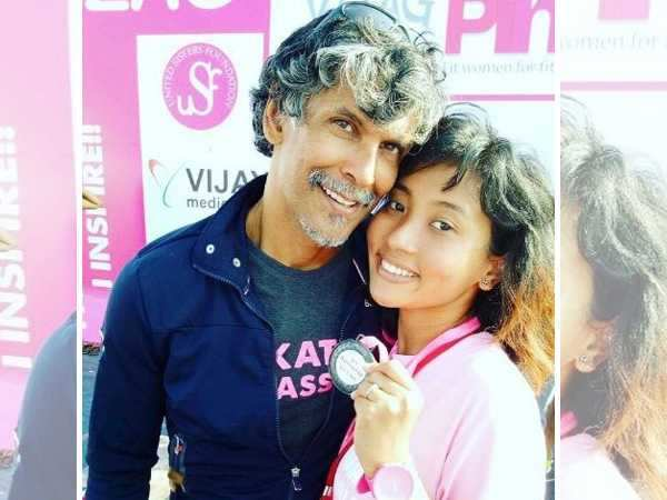 Milind Soman's post with girlfriend Ankita Konwar is going viral