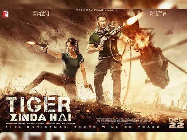 Salman Khan and Katrina Kaif look all things badass in the new Tiger Zinda Hai poster