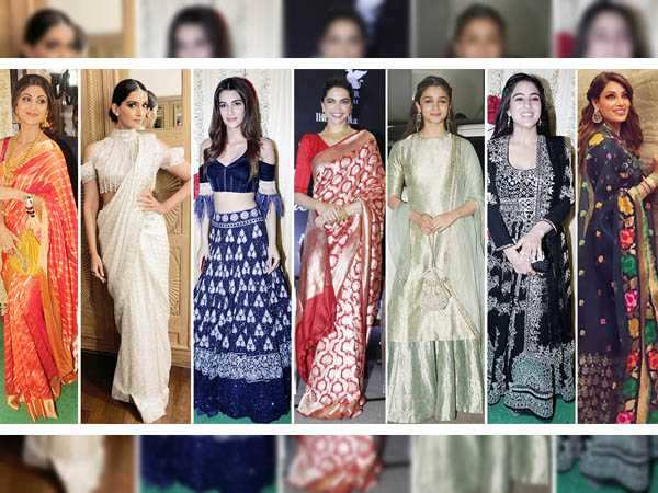 8 stunning Diwali outfits of Bollywood divas you must see!