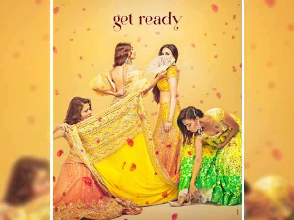 The first look poster of Veere Di Wedding promises too much fun and we can't take our eyes off it!