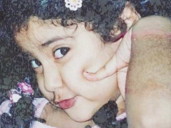 So cute! Sridevi just shared the most adorable childhood photo of Jhanvi Kapoor