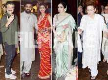 Raj Kundra, Shilpa Shetty, Sridevi & other stars attend Karva Chauth bash at Anil Kapoor's residence