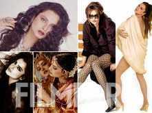 Birthday special! Rekha's hottest Filmfare photoshoots