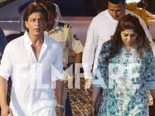 Shah Rukh Khan attends Kundan Shah's funeral