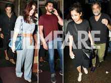 Photos: Akshay Kumar – Twinkle Khanna's dinner date with R Balki, Gauri Shinde and Ritesh Sidhwani