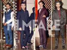 Aamir Khan, Karan Johar, Kunal Kapoor and Rajkummar Rao suit up in style!