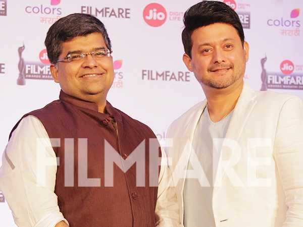 Pictures! Swwapnil Joshi and Editor Jitesh Pillaai kickstart the Jio Filmfare Awards (Marathi)