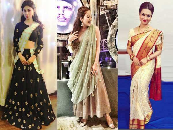 Photos: Mouni Roy, Asha Negi, Divyanka Tripathi are giving us major festive look inspo!
