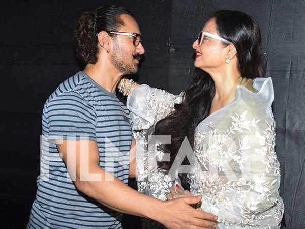 Aamir Khan, Rekha