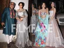 Jhanvi Kapoor and Khushi Kapoor go all GLAM this Diwali