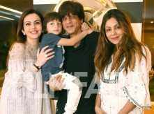 These are the cutest photos of AbRam Khan with Shah Rukh Khan & Gauri Khan along with Nita Ambani
