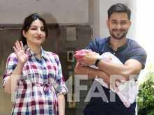 First Photos: Soha Ali Khan and Kunal Kemmu bring daughter Inaaya home