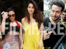 Just some photos of Tiger Shroff and Disha Patani looking too good together!