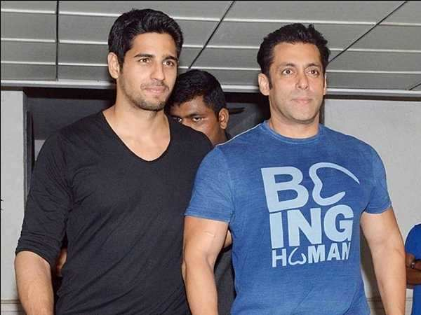 Sidharth Malhotra to join Salman Khan for Race 3?