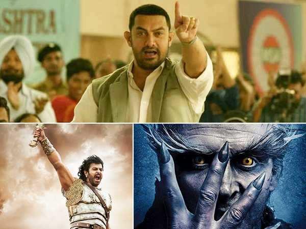 Akshay Kumar and Rajinikanth starrer 2.0 to surpass Dangal and Baahubali 2?
