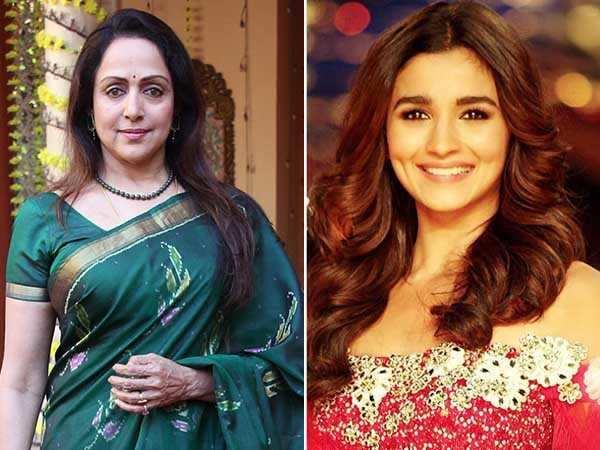 Hema Malini feels Alia Bhatt is perfect to play Basanti from Sholay