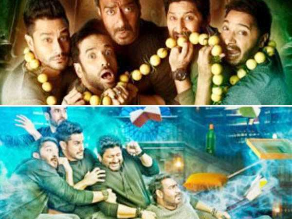 Ajay Devgn's Golmaal Again to be a horror comedy? Well the posters definitely suggest that