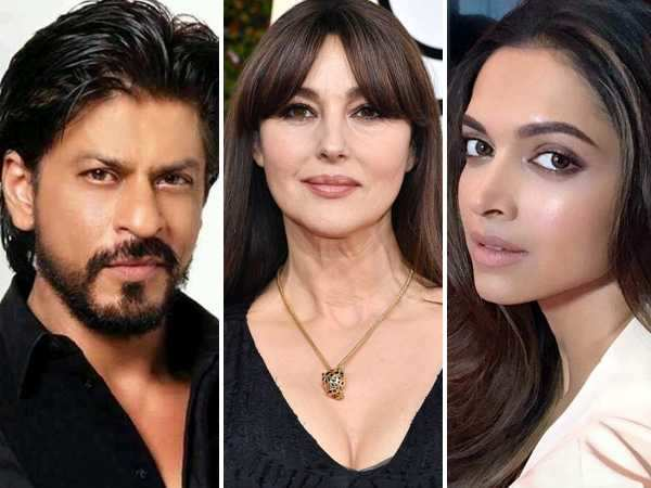 Monica Bellucci wishes to meet Shah Rukh Khan and Deepika Padukone!