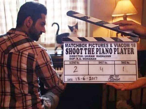 Ayushmann Khurrana says his character in Sriram Raghavan's film will shock people