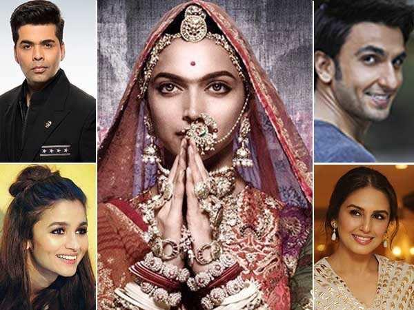 Bollywood stars are going ga-ga over Deepika Padukone's Padmavati look!