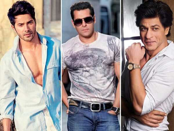 Varun Dhawan feels Salman Khan and Shah Rukh Khan are the real stars