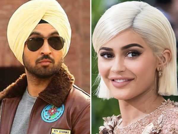 How is Diljit Dosanjh reacting to crush Kylie Jenner's pregnancy?