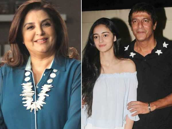 Whoa! Read how Chunky Panday reacts to Farah Khan's comment about his daughter