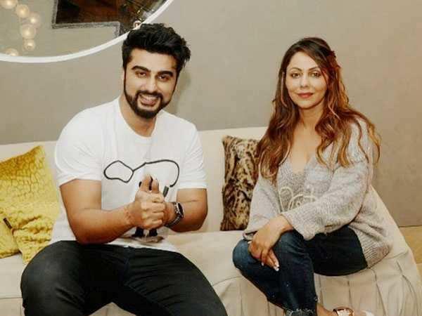 Gauri Khan enjoys a 'meet and greet' session with Arjun Kapoor