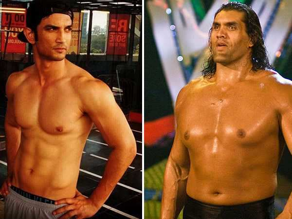 Woah! Sushant Singh Rajput may star in a biopic on wrestler The Great Khali