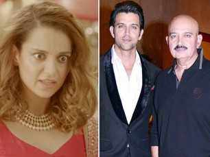 Check out Kangana Ranaut's latest strike on Hrithik Roshan!