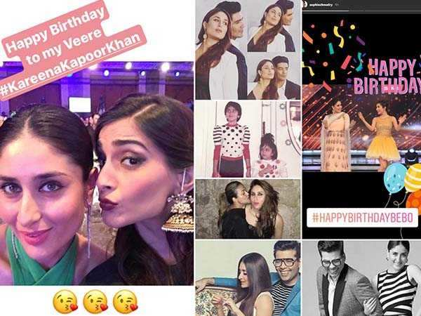 Bollywood celebs pour the sweetest birthday wishes for birthday girl Kareena Kapoor Khan