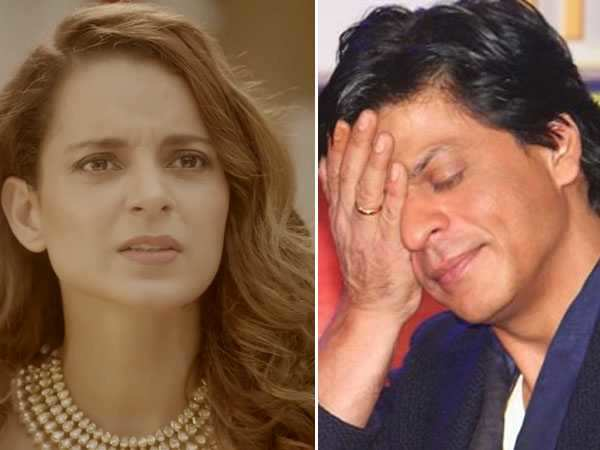 Did Kangana Ranaut just take a pot shot at Shah Rukh Khan?