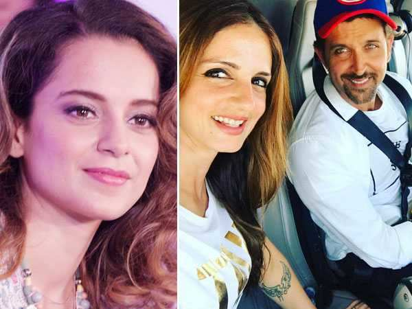 Hrithik vs Kangana! Sussanne Khan supports her ex-husband