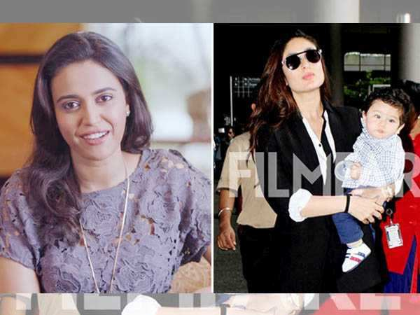 Swara Bhaskar has the best things to say about Kareena Kapoor Khan and Taimur Ali Khan