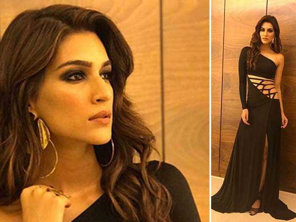 Kriti Sanon's black gown is anything but BORING!
